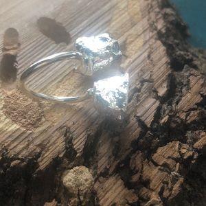 Jewelry - Size 7 adjustable druzy ring